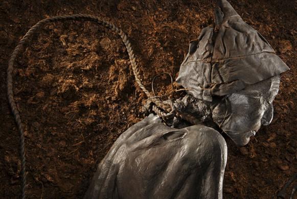 Tolundský muž - jeden ze stovek mrtvých nalezených v severoněmeckých a dánských rašeliništích